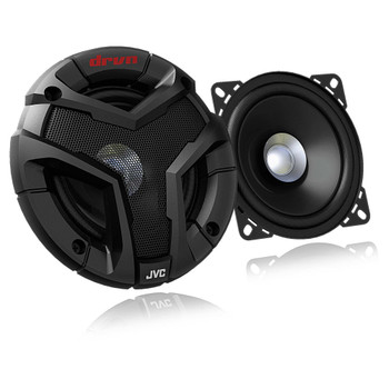 "JVC CSV418 4"" 2-Way DRVN Series Dual Cone Car Speakers (Pair)"