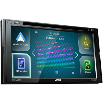 JVC KW-V830BT compatible with Android Auto / CarPlay CD/DVD with Back up Camera and Sirius XM Tuner SXV3001
