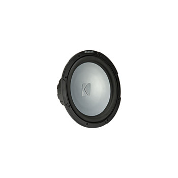 Kicker KM12 12-inch (30cm) Weather-Proof Subwoofer for Enclosures, 2-Ohm
