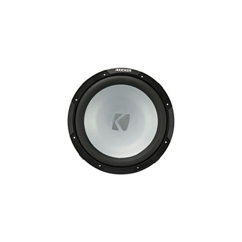 Kicker KM12 12-inch (30cm) Weather-Proof Subwoofer for Enclosures, 4-Oh`m