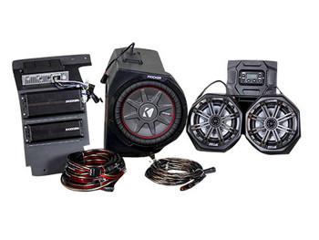 Kicker Polaris General Phase 3, Kicker/SSV Works 3 Speaker Vehicle Specific Solution