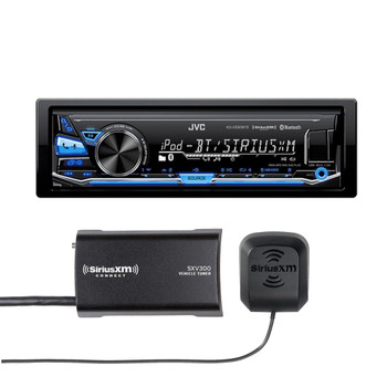 JVC KD-X330BTS In-Dash Digital Media Car Stereo w/ Pandora, iPhone connectivity w/ included SiriusXM Tuner