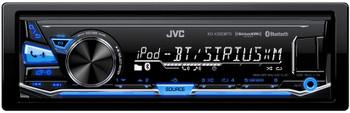 JVC KD-X330BTS In-Dash Digital Media Car Stereo w/ Pandora, iPhone connectivity w/ included SiriusXM Tuner