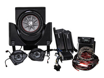 Kicker CanAm X3 Phase 3, Kicker/SSV Works 3 Speaker Vehicle Specific Solution