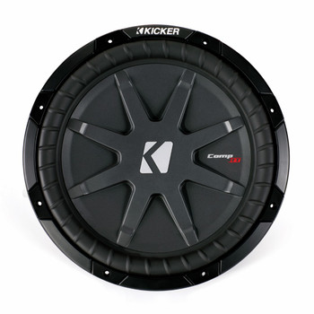 """Kicker for Dodge Ram Quad / Crew Cab 02-15 - Dual 12"""" CompRT subs & box with Grilles"""
