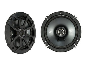 "Kicker 43CSC654 6.5"" & 43CSC6934 6x9"" CS-Series Speakers with 43CXA3004 CX-Series Amplifier and wire kit"