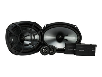 Kicker CSS69 6X9-INCH (160x230mm) COMPONENT SYSTEM WITH .75-INCH (20mm) TWEETER, PAIR, 4-OHM, ROHSKicker bundle