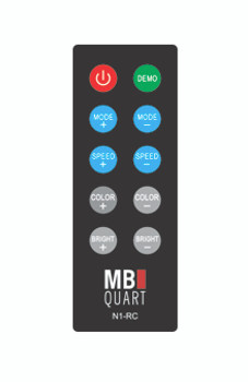 MB Quart N1-RC   Wireless RF LED light remote control