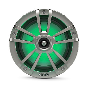 Infinity 622MLT Marine 6.5 Inch RGB LED Coaxial Speakers - Titanium