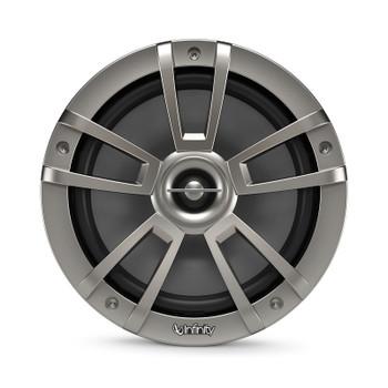Infinity 822MLT Marine 8 Inch RGB LED Coaxial Speakers - Titanium