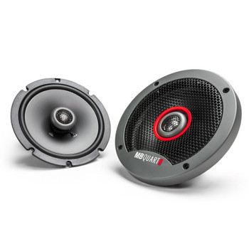 MB Quart Formula 6.5 inch slim mount coaxial car speakers