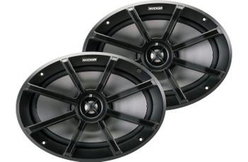 Kicker Refurbished 6x9 Inch PS-Series Powersports Speakers 40PS694 (Pair)