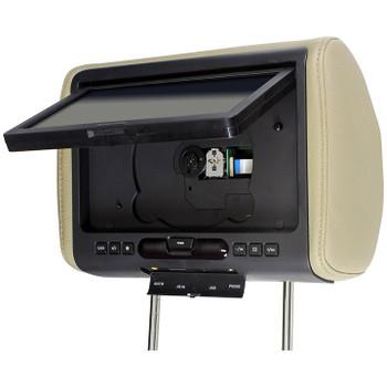 "Audiovox Refurbished AVXMTGHR9HD 9"" Headrest Monitor system w/ DVD Player, HDMI/MHL Input"
