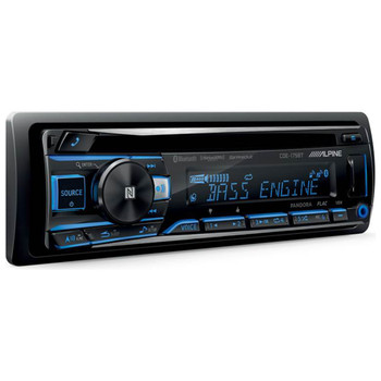 Alpine CDE-175BT CD Receiver with NFC & Bluetooth® Wireless Technology