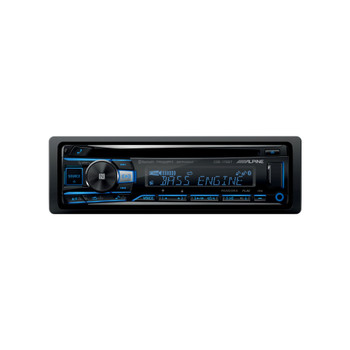 Alpine CDE-175BT CD Receiver with NFC & Bluetooth® Wireless Technology - Includes SWI-CP2 Steering Wheel Interface