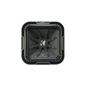 Kicker L710 Q-Class 10-Inch (25cm) Square Subwoofer, Dual Voice Coil 4-Ohm