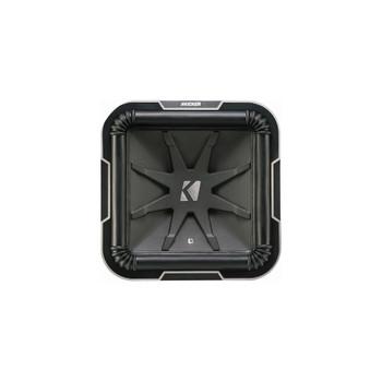 Kicker L712 Q-Class 12-Inch (30cm) Square Subwoofer, Dual Voice Coil 4-Ohm