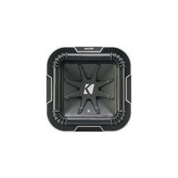 Kicker L78 Q-Class 8-Inch (20cm) Square Subwoofer, Dual Voice Coil 4-Ohm