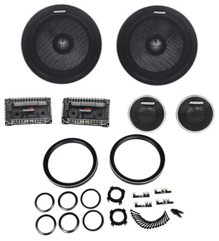 Kicker 6.75 Inch Q-Class Matched Component System 41QSS674