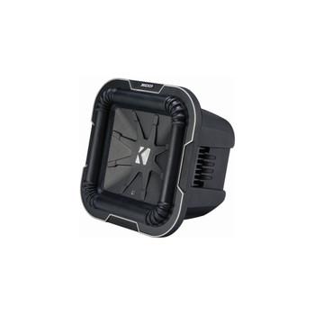 Kicker L78 Q-Class 8-Inch (20cm) Square Subwoofer, Dual Voice Coil 2-Ohm