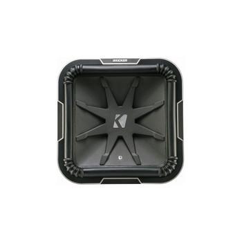 Kicker L715 Q-Class 15-Inch (38cm) Square Subwoofer, Dual Voice Coil 4-Ohm