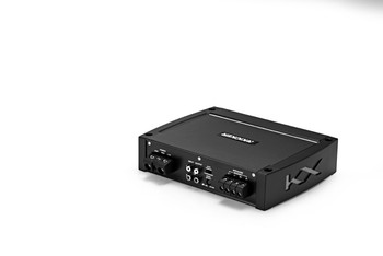 "Kicker 44KXMA4002 400 Watt Amplifier with Two Black 10"" Wet Sounds Free Air Subwoofers"