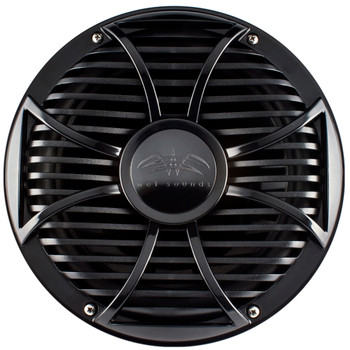 """Kicker 44KXMA4002 400 Watt Amplifier compatible with Two Black 10"""" Wet Sounds Free Air Subwoofers"""