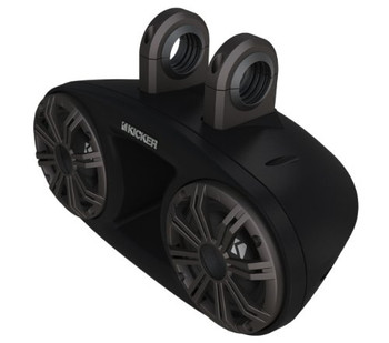 Kicker 41KMT67 Tower System full-range two-way speaker system with dual weather-proof enclosures (Pair)