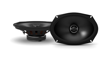 "Alpine - Two Pairs Of S-S69 6x9"" Coaxial Speakers, a MB Quart Discus DSC4125 4-Channel Amp & Amp Wiring Kit"