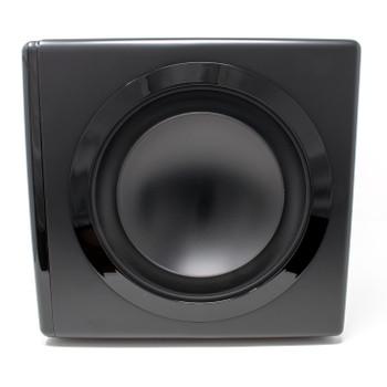 "Niles SW8 8"" Compact Powered Home Theater Subwoofer With Dual Passive Radiators - 1200 Watt"