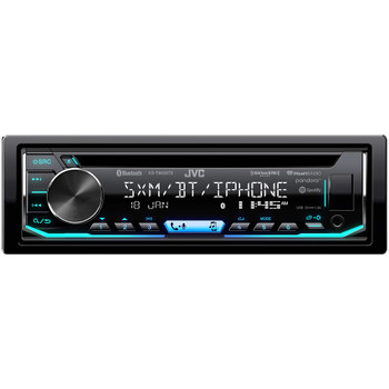 JVC KD-T900BTS CD Receiver featuring Bluetooth® / USB / SiriusXM / Pandora / iHeartRadio / Spotify/ 13-Band EQ