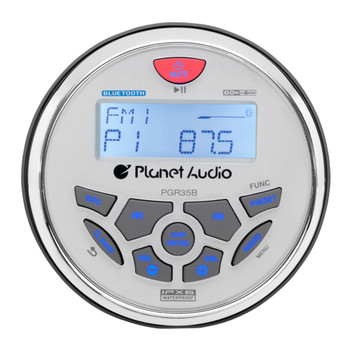 Planet Audio PGR35B Gauge, MECH-LESS Multimedia Player