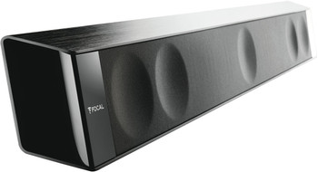 "Focal Dimension Discrete High-Fidelity 5.1 Soundbar With Niles SW8 Powered 8"" 1200 Watt Subwoofer"