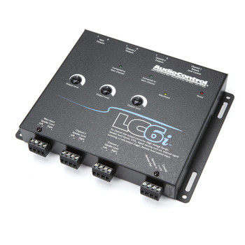 AudioControl LC6i 6 Channel Line Out Converter & ACR-1 Dash Remote