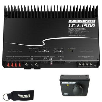 AudioControl LC-1.1500 Mono Subwoofer Amplifier &  ACR-1 Dash Remote