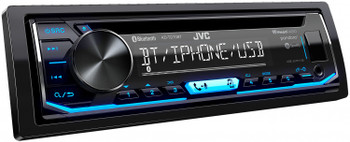 JVC KD-TD70BT CD Receiver featuring Bluetooth With PAC SWI-RC Steering Wheel Remote Interface