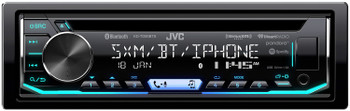 JVC KD-TD90BTS CD Receiver featuring Bluetooth With PAC SWI-RC Steering Wheel Remote Interface
