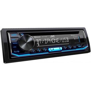 JVC KD-T700BT CD Receiver featuring Bluetooth With PAC SWI-RC Steering Wheel Remote Interface