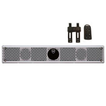 "Wet Sounds Stealth 6 Ultra HD White + UTV Mounting Kit, Slider bracket and Round 1.5"" Tube clamp"