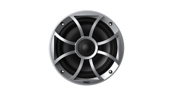 "Wet Sounds RECON6-S Recon Series 6.5"" 60-Watt RMS Coaxial Speakers With Silver XS Grille And Cone (Pair)"