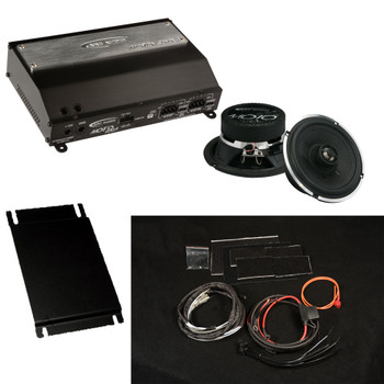 Arc Audio M.P.A.K. 12 Motorcycle plug-and-play audio kit For 2014+ Street Glide & 2015+ Road Glide