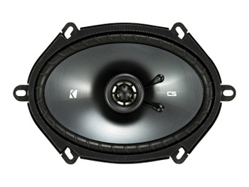 "Alpine CDE-172BT CD Receiver with Bluetooth, and Two Pairs of Kicker 43CSC684 6x8""/5x7"" Speakers"