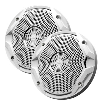 JBL MS6510 Marine Speakers - 6.5 Inch Dual-Cone Speakers - Pair, White