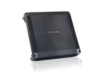 Alpine BBX-T600 Amplifier and Kicker CompRT10 10-inch Subwoofer in Thin Profile Enclosure, 4-Ohm - Includes wire kit