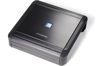 Alpine MRV-M500 Amplifier and a Kicker Dual Comp 12-inch Subs in Vented Ported Enclosure and a 2-Ohm - Includes wire kit