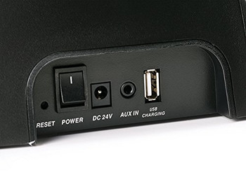 Kicker Refurbished Amphitheater BT2 Wireless Bluetooth Audio System (Black)