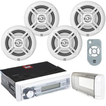 DUAL MCP1054 - Digital Media Receiver with Splashguard and 4 Speakers