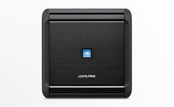 """Alpine MRV-F300 4 Channel Amplifier (2) Pair Alpine S-S57 5X7/6X8"""" Coax Speakers, and Wiring Kit"""