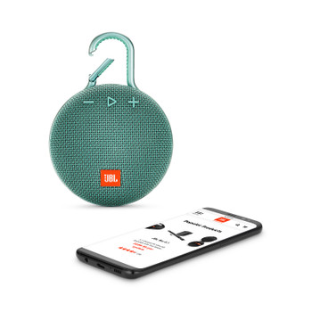 JBL CLIP 3 Portable Bluetooth® speaker – Teal