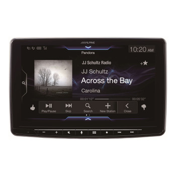 "Alpine iLX-F309TND HALO9 9"" Receiver for Toyota Tundra 2014-2019 - Compatible With CarPlay and Android Auto (No-CD)"